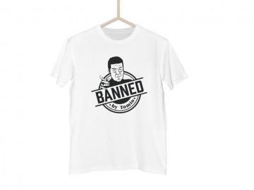 Bílé tričko BANNED classic - M