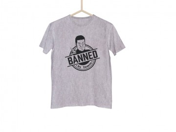 Šedé tričko BANNED classic - L