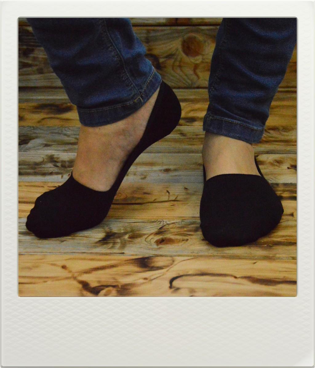 Ponožky Invisible Black