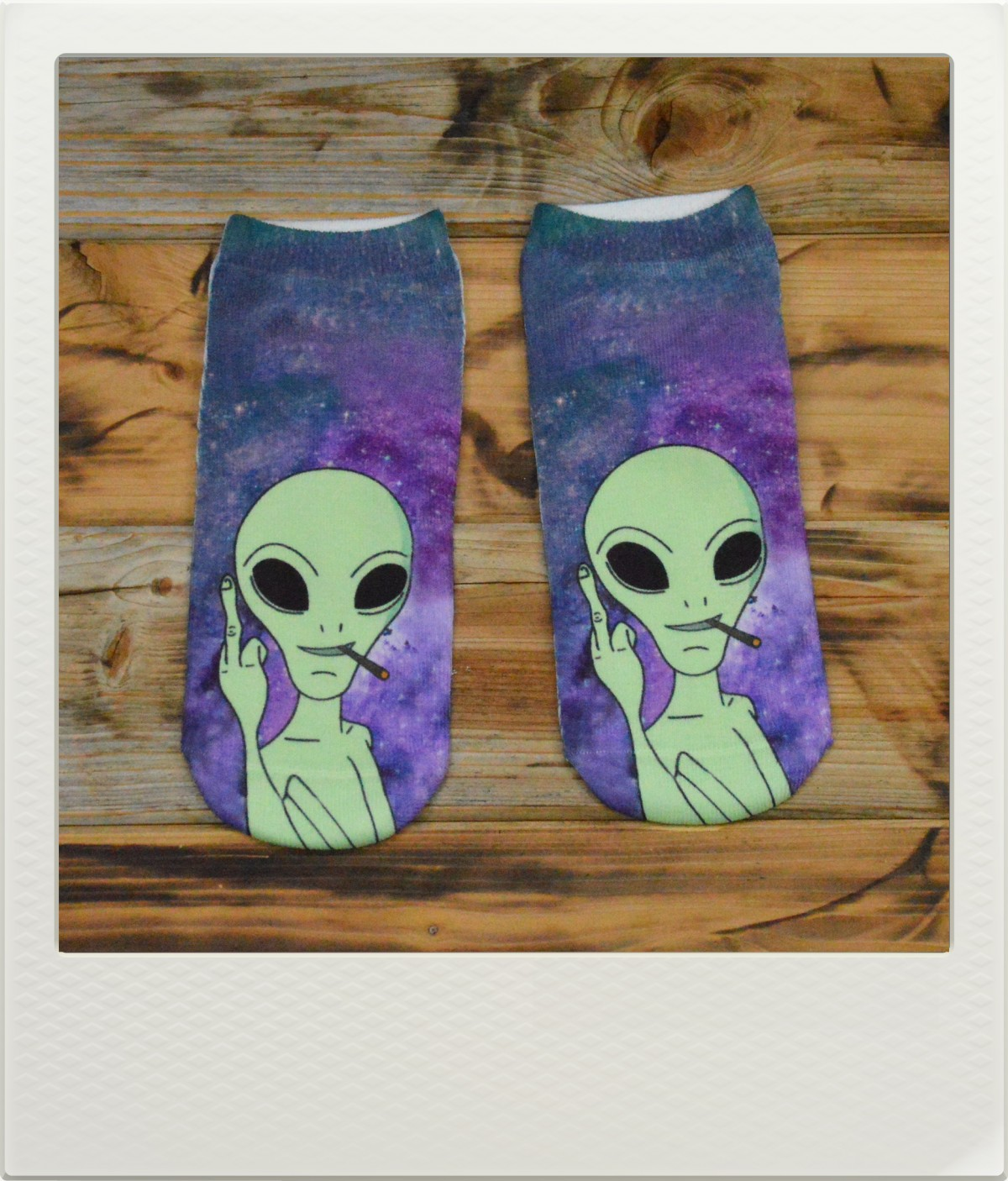 Ponožky Alien