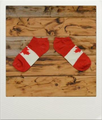 Ponožky Flags Canada