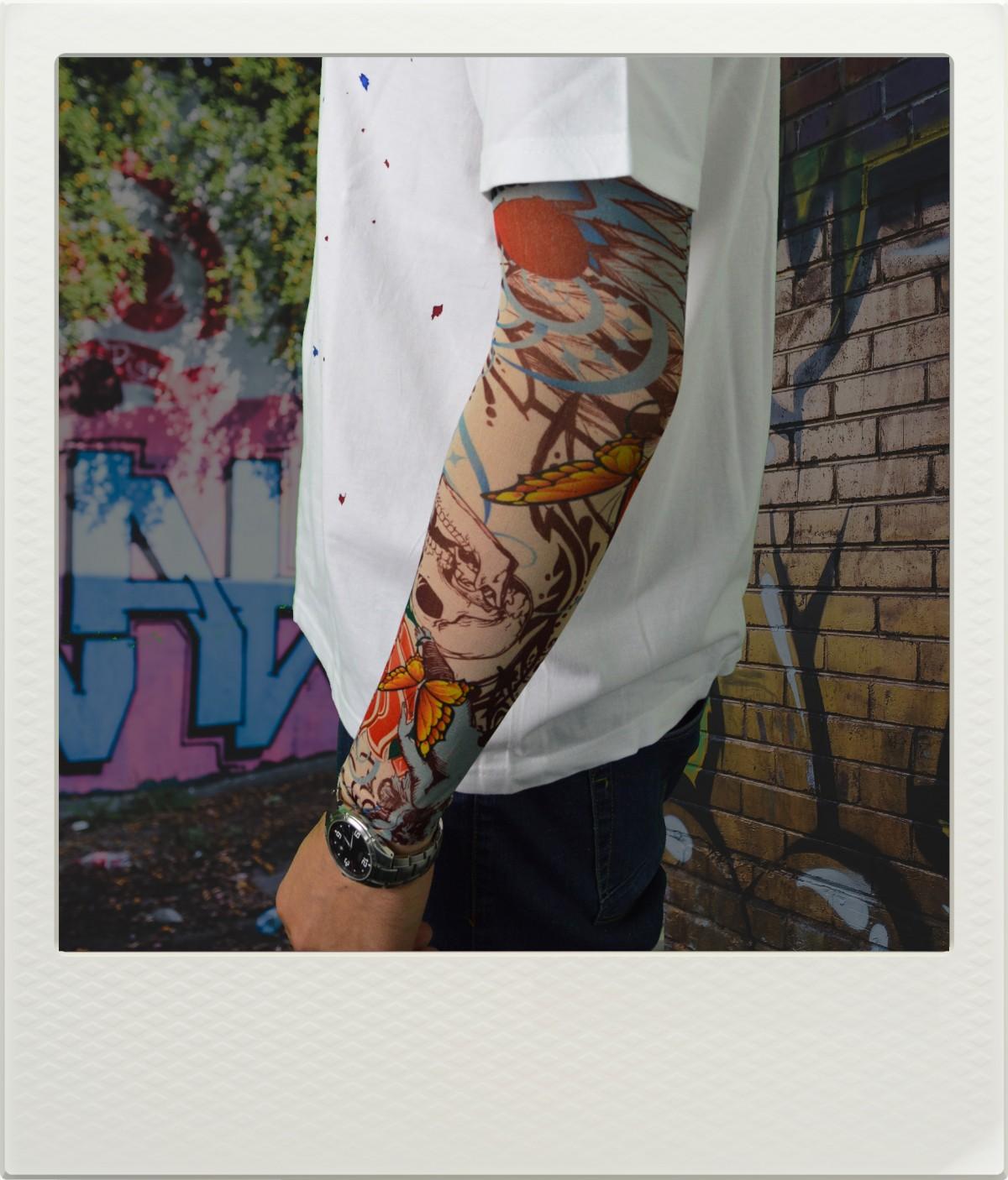 Potetovaný rukáv 3