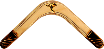 Bumerang Pyro - Levoruký