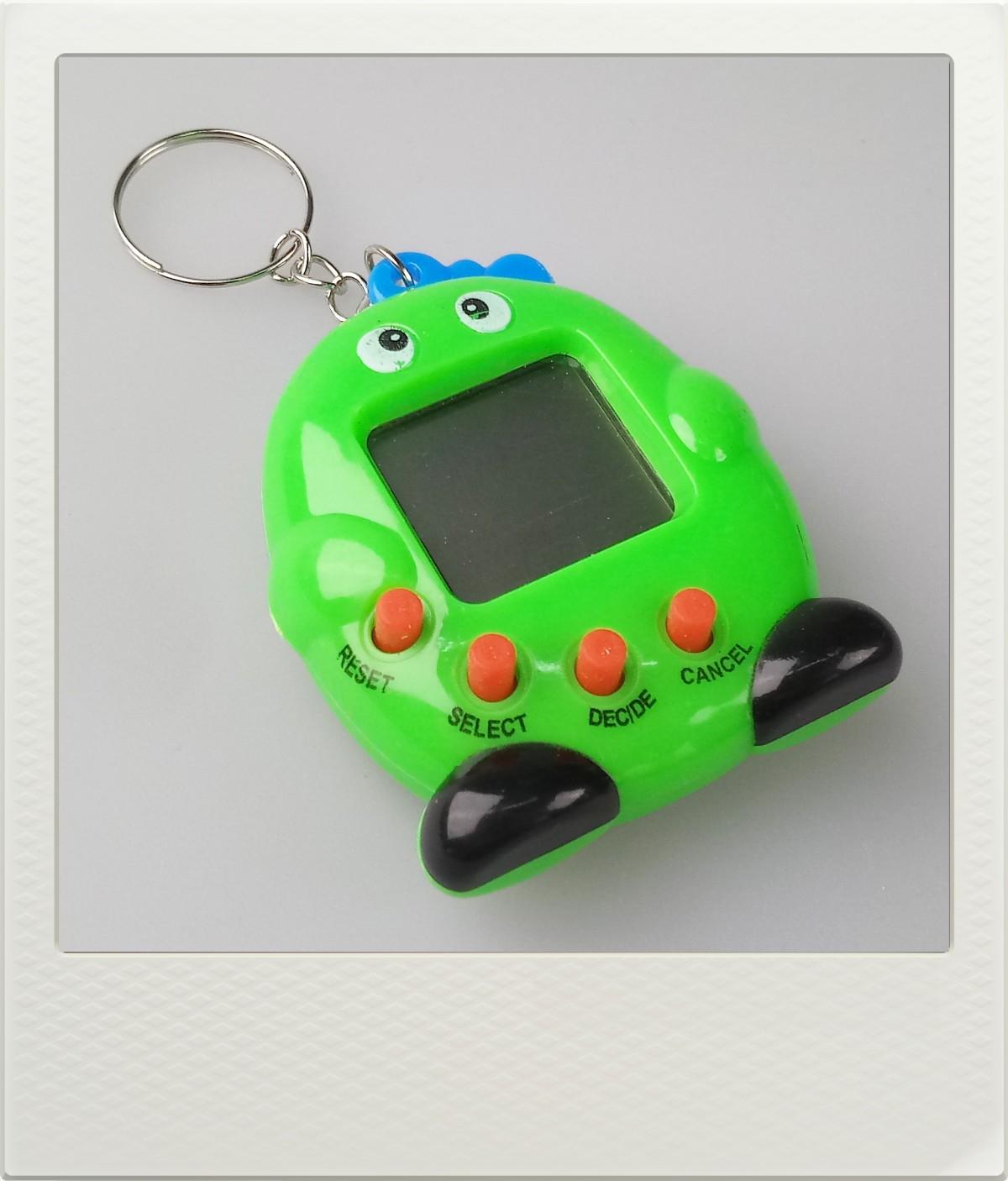 Tamagotchi zvířátko - zelené