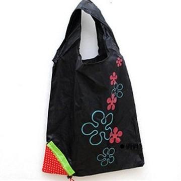 Jahůdková nákupní taška - černá