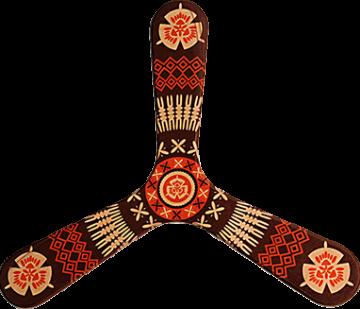 Bumerang Fiji - Pravoruký