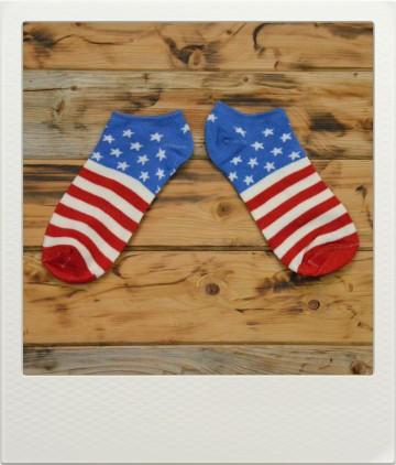 Ponožky Flags USA