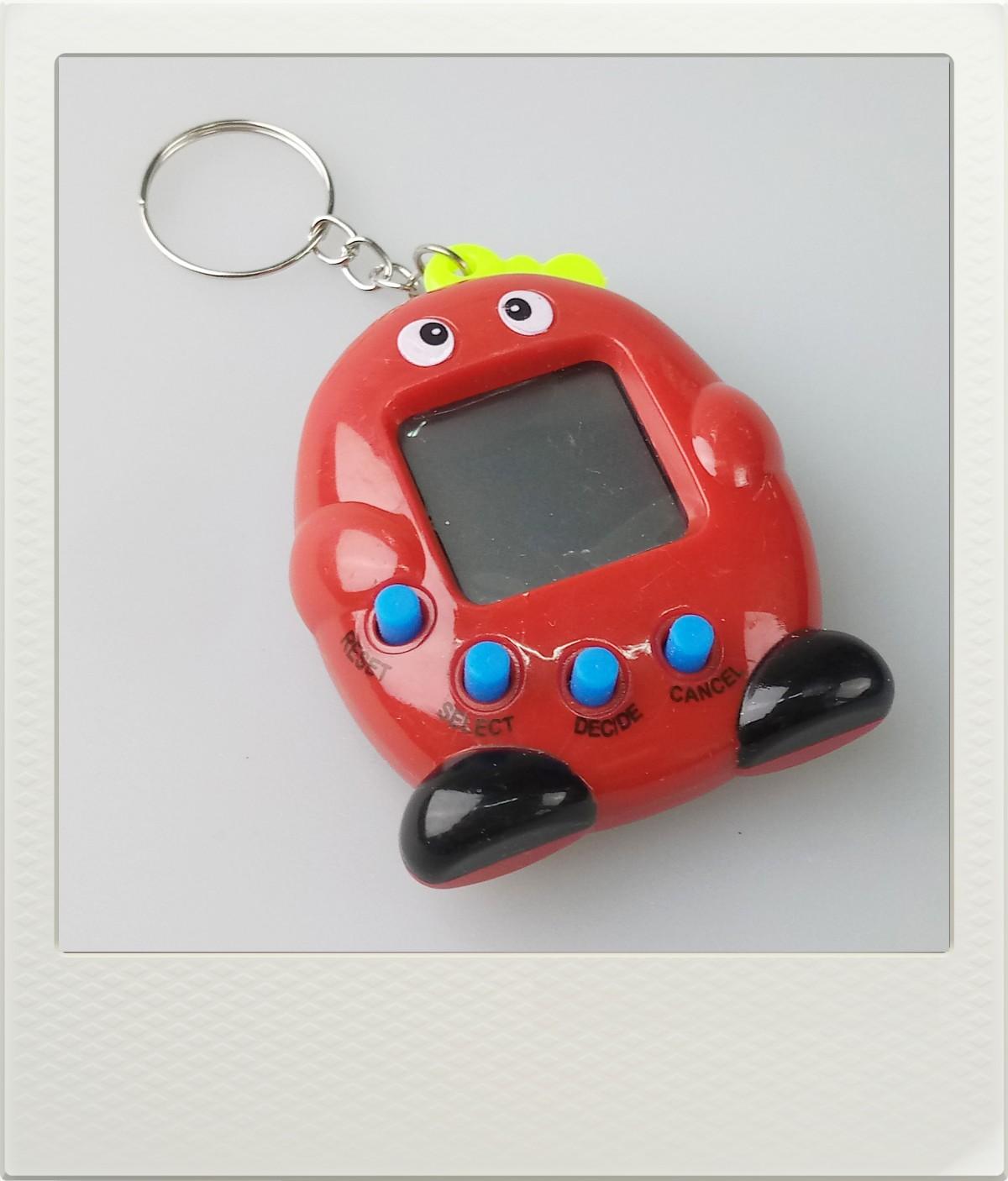 Tamagotchi zvířátko - červené