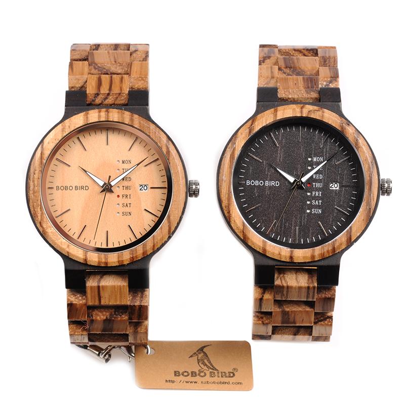 88d112697 Dřevěné hodinky BOBO BIRD Two   RAGLEWIAshop