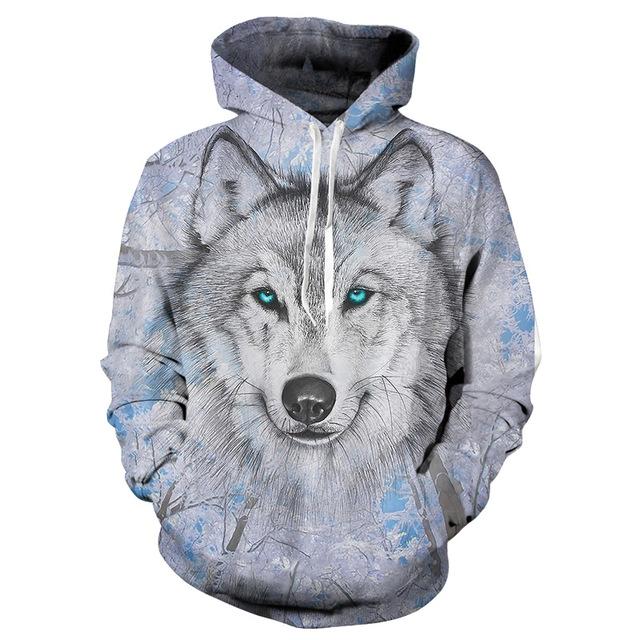 Mikina 3D vlk  0fdecded92