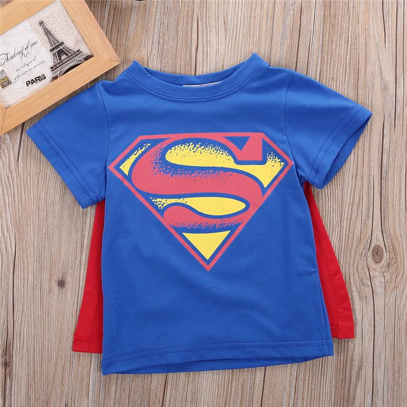 f99df1886f7 Dětské triko Superman s pláštěm