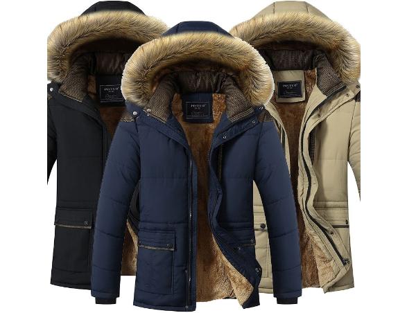 6d1e2af54052 Pánská zimní bunda s kapucí