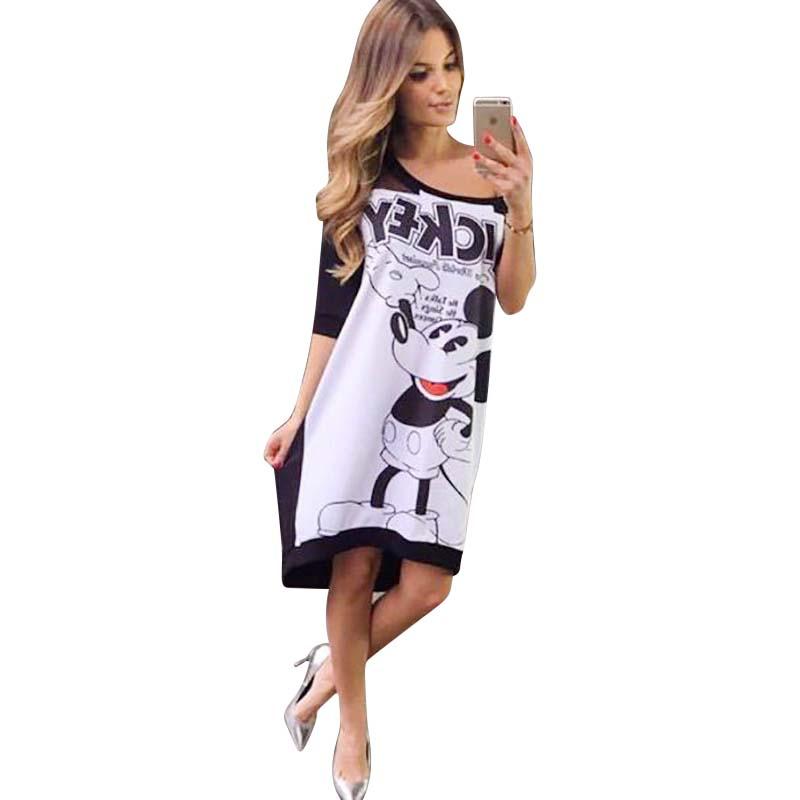 Dámské módní šaty Mickey  00c5c17475