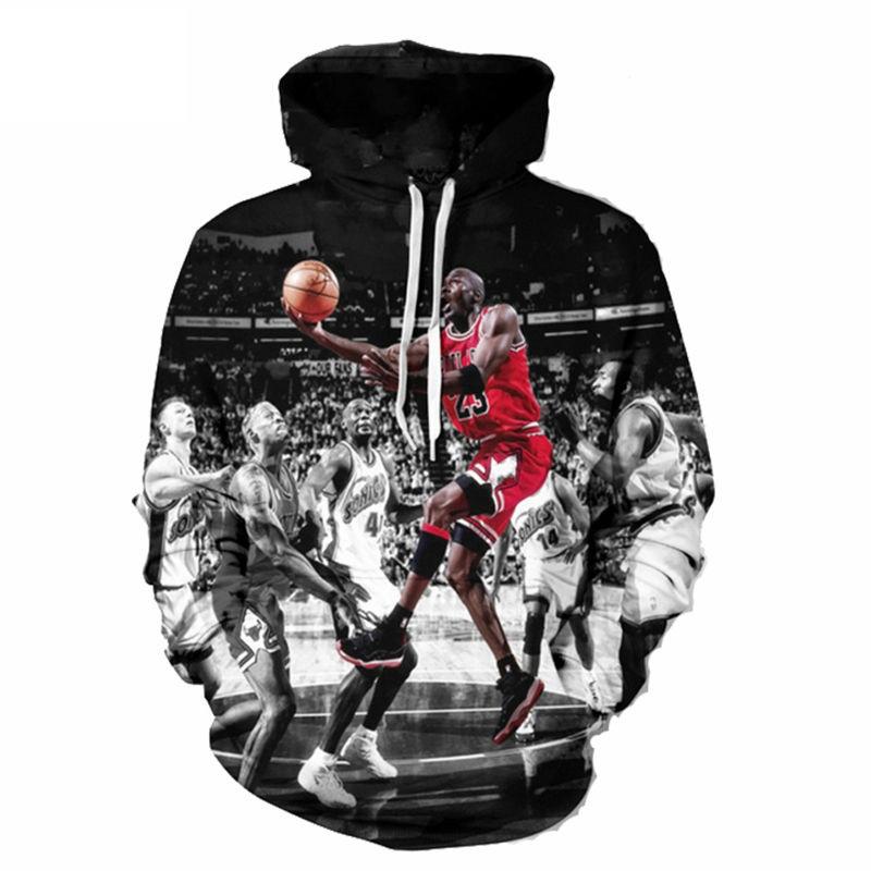 3D Mikina Michael Jordan  fcc1fceaffe