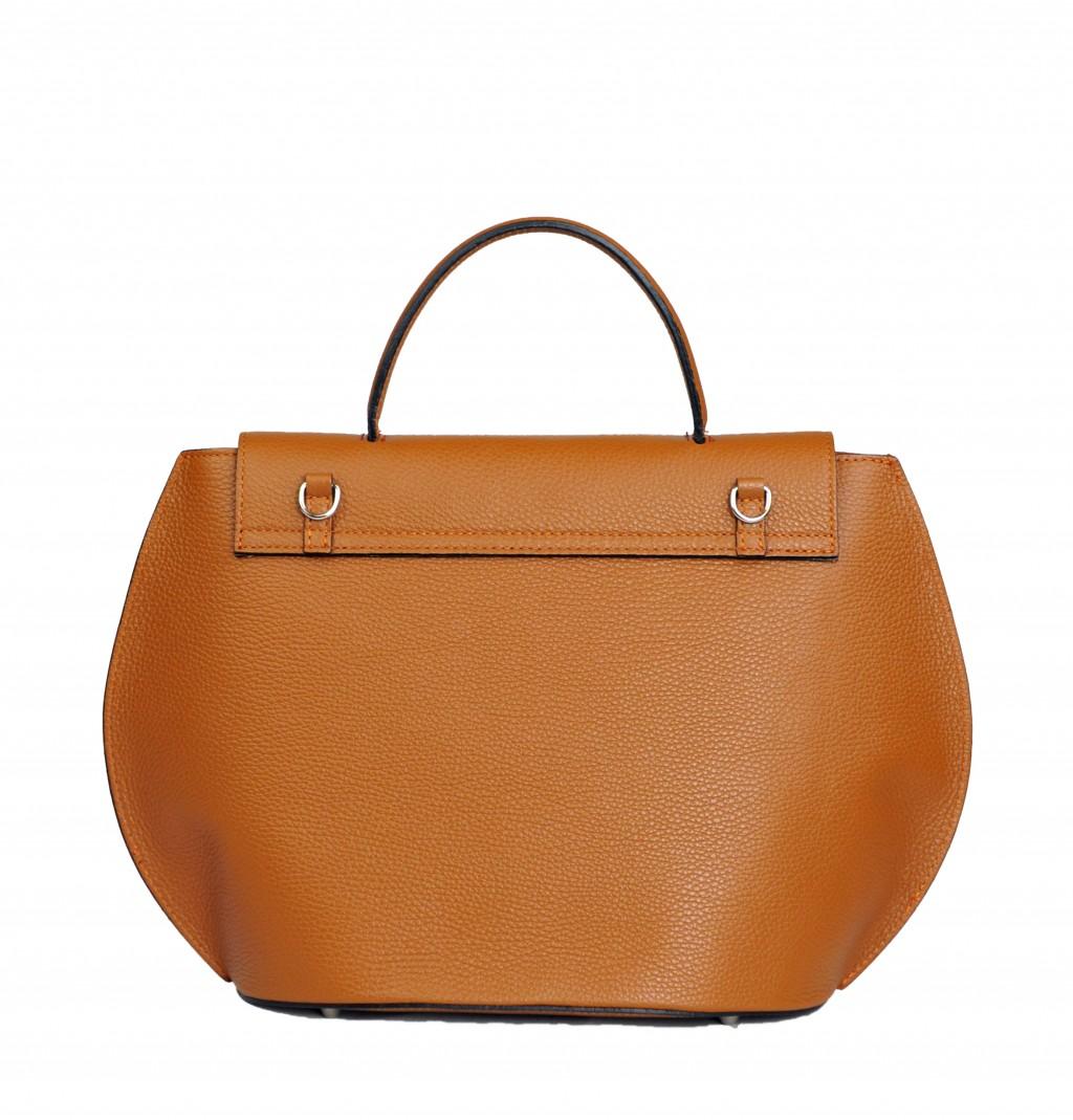 Italská kožená kabelka Patricie - Cuoio