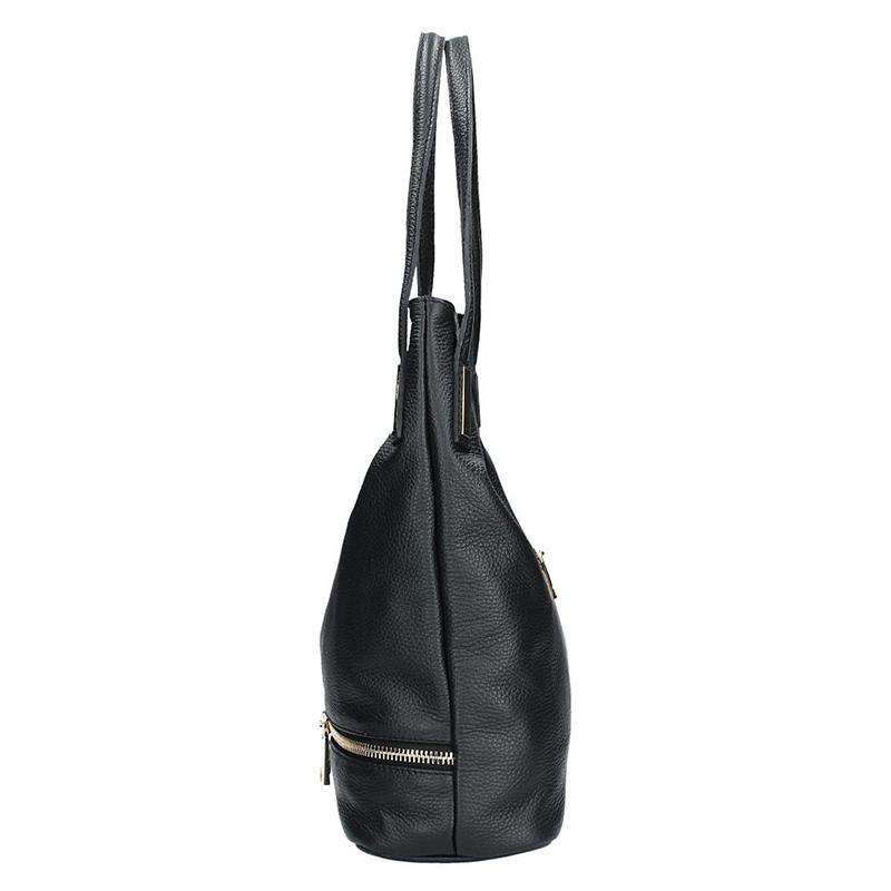 Kožená kabelka FACEBAG - GRETA