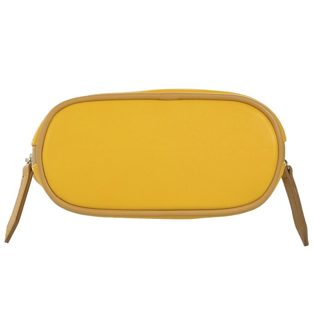 6034/39-40 kabelka kožená