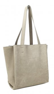 Dámská kožená kabelka FACEBAG BELLA - Béžová *vintage*