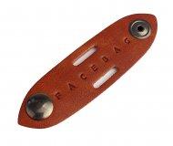 Kožené poutko na zkrácení kabelu FACEBAG - Cuoio vintage