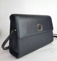 Kožená kabelka Ripani 2341 JG 003 Nadira černá
