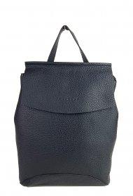 Designový kožený batůžek FACEBAG KENNY 8018 - Černá *dolaro*