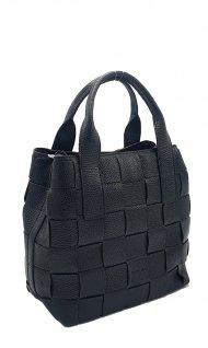 Kožená kabelka Ripani 2614 OI 003 Mira černá