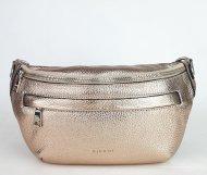 Dámská italská kožená ledvinka RIPANI 7088 OL 076 EASY BAG - Bronzová *dolaro*