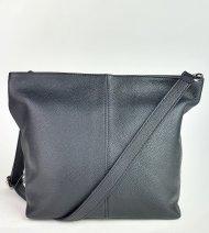 Dámská italská kožená kabelka 3147 - Černá *dolaro*