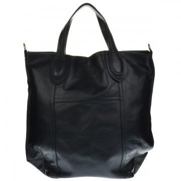 Dámská kožená kabelka PIPPA - Černá