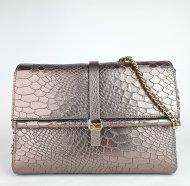 Luxusní dámská kožená kabelka RIPANI 5774 WL 99076 LINFA - Zlatá had