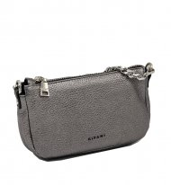 Kožená crossbody kabelka Ripani 8005 OL 079 Easy bag stříbrná
