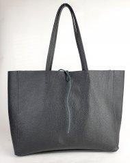 Dámská italská kožená taška 2015 - Černá *dolaro*