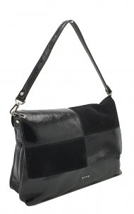 Kožená kabelka Ripani 2713 QO 003 Virgo černá