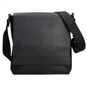 RIPANI MAURO - pánská kožená taška černá