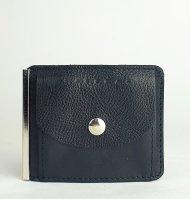 Pánská kožená peněženka FACEBAG DOLARKA - Černá