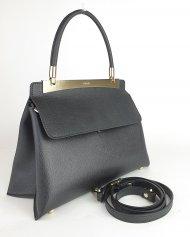 Kožená kabelka Ripani 8714 JJ 003 Calatea černá