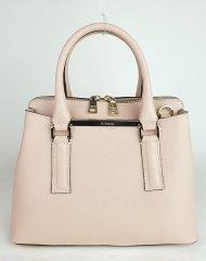 Dámská italská kožená kabelka RIPANI 2423 JJ 050 DIVINA - Pudrová *safiano*