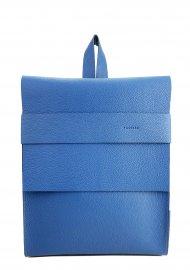 Dámský kožený batoh FACEBAG SERGIO - Tmavá modrá *dolaro*