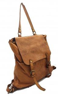 Kožený batoh 3356 tmavá cuoio vintage