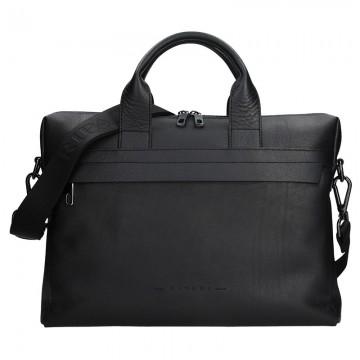 RIPANI URBAN - pánská kožená taška černá