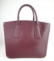 Dámská italská kožená kabelka 3180 - Vínová *dolaro*