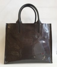 Dámská kožená kabelka FACEBAG LUSSA - HNĚDÁ