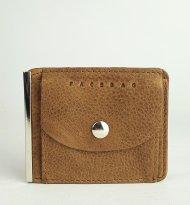 Pánská kožená peněženka FACEBAG DOLARKA - Světlá hnědá vintage