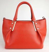 Dámská italská kožená kabelka RIPANI 8413 JJ DELIZIA  - Červená *safiano*