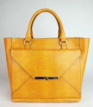 Dámská italská kožená kabelka RIPANI 2281 KK 011 MITO - Oranžová lak