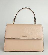 Dámská italská kožená kabelka RIPANI 9593 JJ 050 VERBENA - Pudrová *safiano*