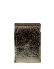 Kožené pouzdro na cigarety FACEBAG 7059 - Zlatá
