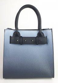 Dámská italská kožená kabelka 3315 - Modrá *dolaro*