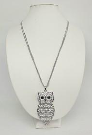 bižuterie - náhrdelník sova