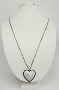 bižuterie - náhrdelník srdce